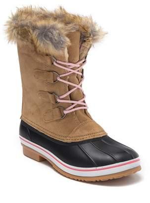 Northside Kathmandu Faux Fur Trimmed Boot (Toddler & Little Kid)