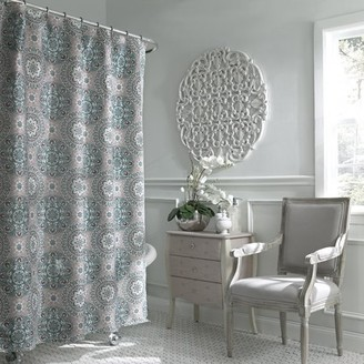 Excell Carthe Boho Chic Fabric Shower Curtain
