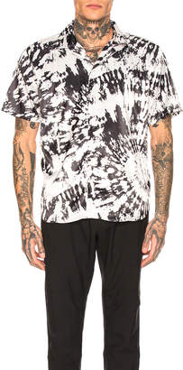 SSS World Corp Hawaiian Shirt in Black & White | FWRD