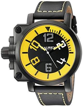 Haurex Italy Men's 6N508UYN Gun Analog Display Quartz Watch