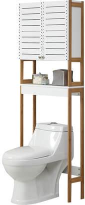 "OIA Rendition 23.625"" W x 70.25"" H Over the Toilet Storage"