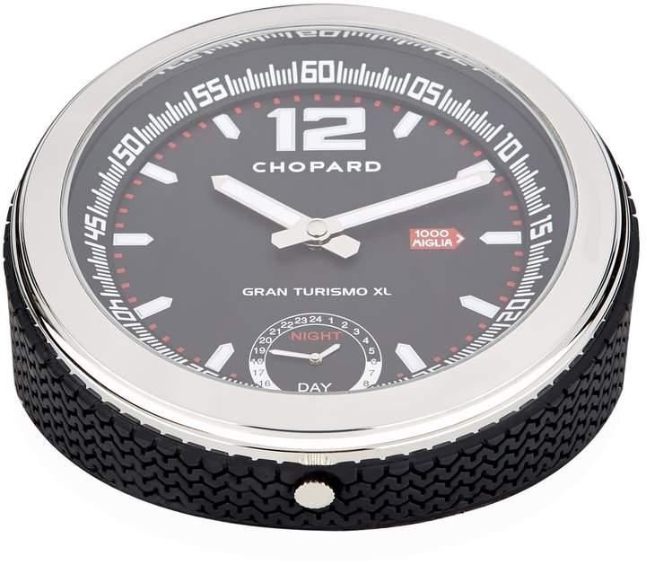 Mille Miglia GMT Table Clock, Black