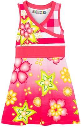Desigual Toddler Girls' Vest_Tunez Dress, Azalea, 13/14