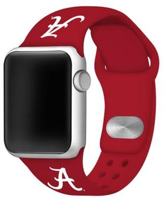 Affinity Bands Alabama Crimson Tide Silicone Sport Band for 38mm/40mm Apple Watch - Crimson