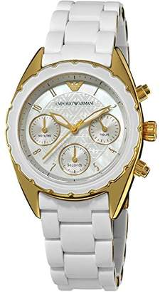 Emporio Armani Women's AR5945 Sport Chronograph Dial Watch