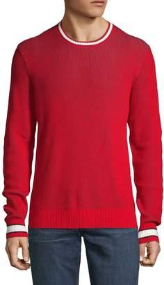 Saks Fifth Avenue Nhp Crewneck Cotton Sweater