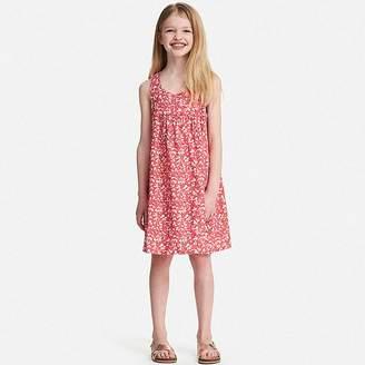 Uniqlo Girl's Gathered Sleeveless Dress