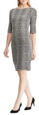 Lauren Ralph Lauren Misa Plaid Sheath Dress
