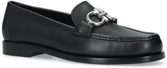 Salvatore Ferragamo Leather Rolo Loafers