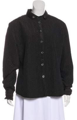 Armani Collezioni Button-Up Casual Jacket