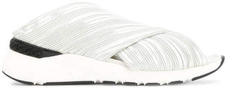 Casadei crossover sneaker sandals