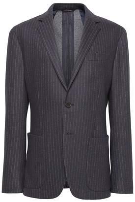 Banana Republic BR x Kevin Love | Slim Pinstripe Italian Motion-Stretch Suit Jacket