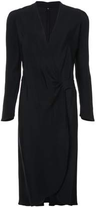 DAY Birger et Mikkelsen Peter Cohen long-sleeved wrap dress