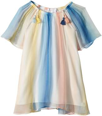 Couture Chloe Kids Mini Me Dress Rainbow Striped Girl's Dress