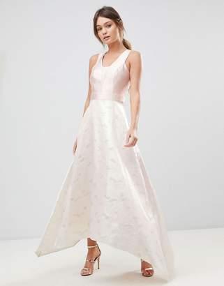Coast Pearl Metallic Maxi Dress