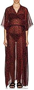 On The Island Women's Arkoi Leopard-Print Cover-Up Maxi Dress - Red
