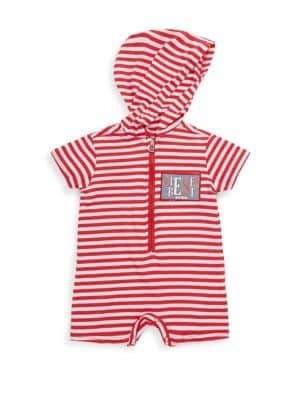 Diesel Baby's Stripe Hooded Coverall