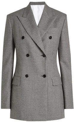 Calvin Klein Printed Virgin Wool Blazer
