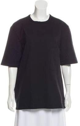 Lemaire Oversize Short Sleeve Top