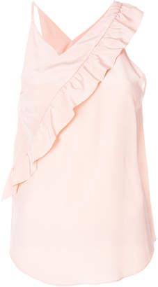 IRO asymmetric ruffle blouse