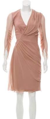 Anna Molinari Knee-Length Long Sleeve Dress