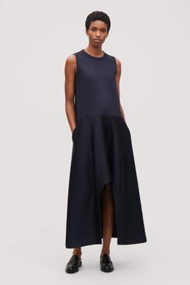 Cos SCUBA DRESS WITH IRREGULAR HEM