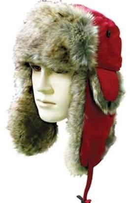 560eee6e910 Generic Winter Faux Fur Trapper Hat For Men   Women-Red