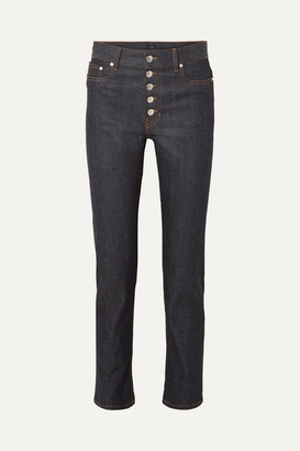 Joseph Den High-rise Straight-leg Jeans - Indigo