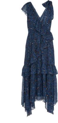 Ulla Johnson Dania ruffle accented midi dress