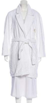 Christian Dior Belted Embroidered Robe w/ Tags