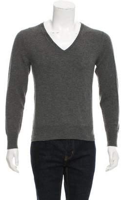 Alexander McQueen V-Neck Wool Sweater