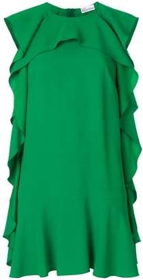 RED Valentino ruffle shift dress