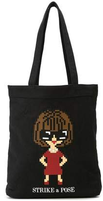 Mostly Heard Rarely Seen 8-Bit Glossy tote