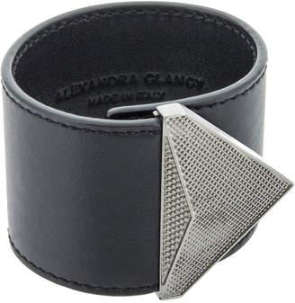 At Ahalife Alexandra Clancy Austin Leather Cuff Bracelet