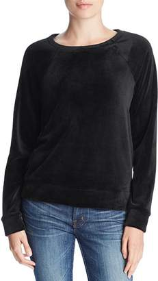 Andrew Marc Velour Sweatshirt