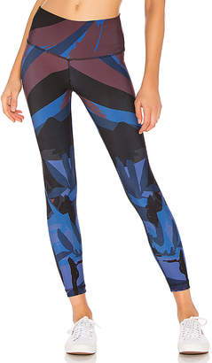 Maaji Deep Blue Lagoon Reversible 7/8 Legging