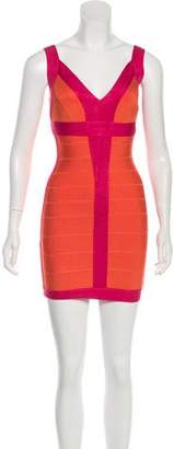 Herve Leger Billie Bandage Dress