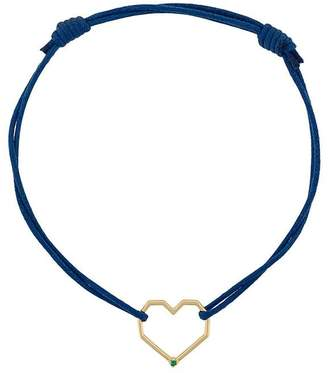ALIITA 9kt yellow gold Corazon heart bracelet