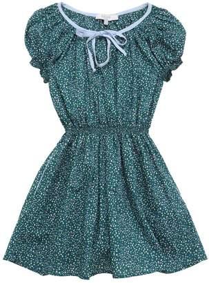 Liberty Print Cotton Poplin Dress