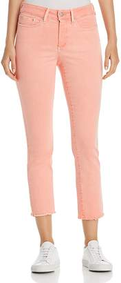 NYDJ Petites Sheri Slim Frayed Ankle Jeans in Pale Desert Flower - 100% Exclusive