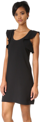 Elizabeth and James Dillon Ruffle Back Dress $365 thestylecure.com