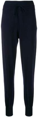 Twin-Set drawstring waist track pants