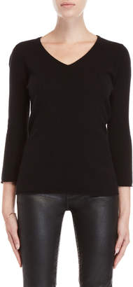 In Cashmere Cashmere Quarter Sleeve Sweater