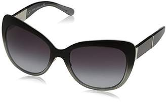 Burberry Women's 0BE3088 10058G Sunglasses,57