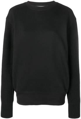 Helmut Lang knit sleeves sweatshirt