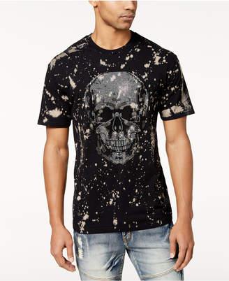Reason Men's Memento Splatter-Print Rhinestone T-Shirt
