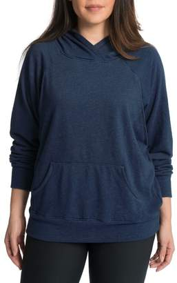 Bun Maternity Relaxed Daily Maternity Nursing Hoodie