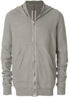 Rick Owens zip-up hoodie
