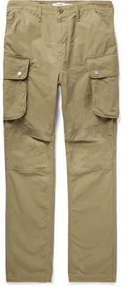 Nonnative Commander Tapered Cotton-Ripstop Cargo Trousers - Men - Neutrals