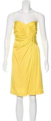 Foley + Corinna Pleated Knee-Length Dress